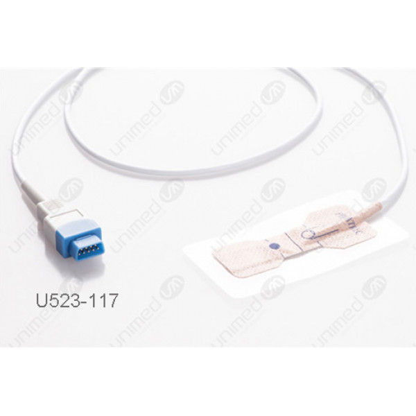 GE Healthcare>Datex>Ohmeda Disposable Spo2 Sensor U523-117 F523-117