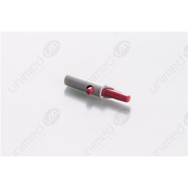 Alligator clip/red adapter with 4.0mm banane