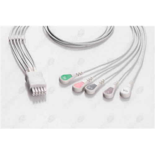 Mindray>Datascope Reusable ECG LeadWires DT5-90S