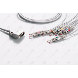 Mortara Reusable One Piece EKG Fixed Cable E10-MT-B