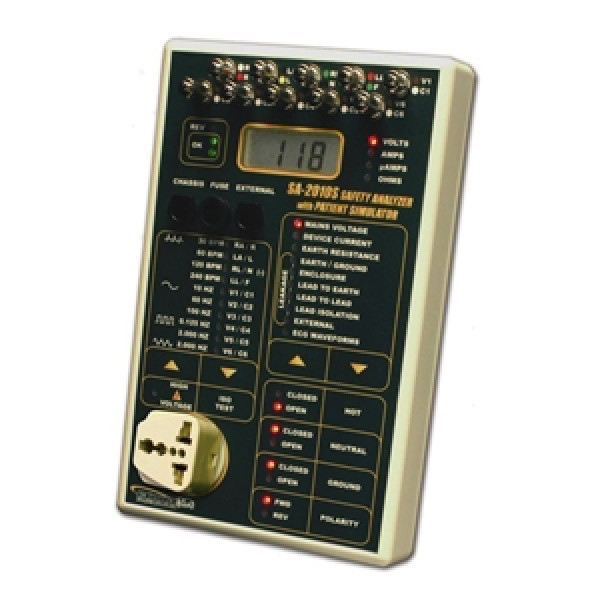Safety Analyzer - International - 10 Pat Leads & Sim - SA-2010S-INTL